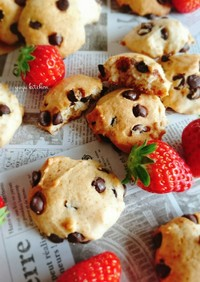 HMで簡単☆チョコチップクッキー。