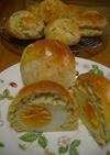 ゆでたまご包みの朝食パン