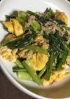 朝ご飯やお弁当に*小松菜とツナと卵炒め