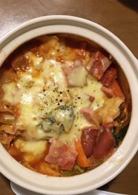 チーズとろける!トマト鍋
