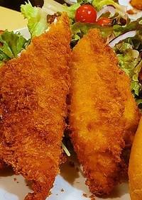 老舗とんかつ屋直伝☆究極の白身魚のフライ