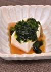 優しい味♪あおさのあんかけ豆腐