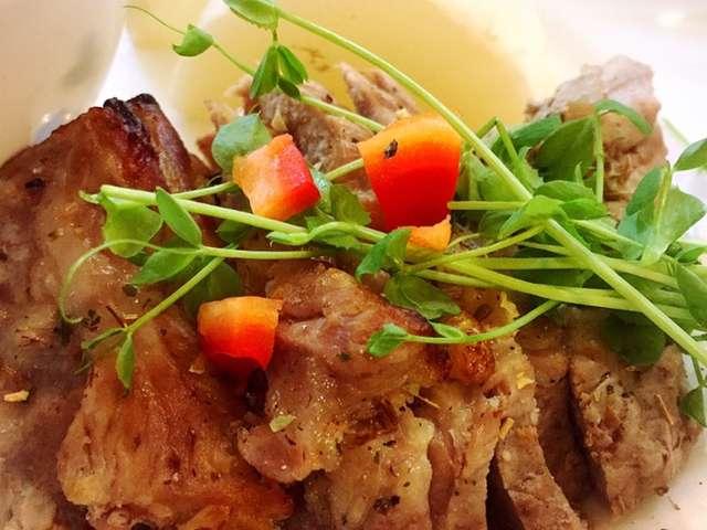 豚 肩 ロース ブロック オーブン