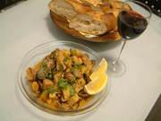 【ポルトガル料理】豚のアレンテージョ風の写真