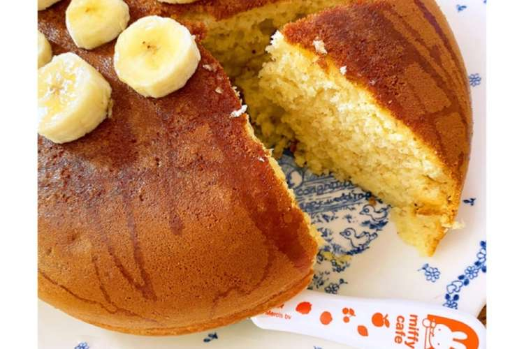 ケーキ 炊飯 器 バナナ