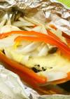 野菜たっぷり!鮭のみそマヨホイル焼き
