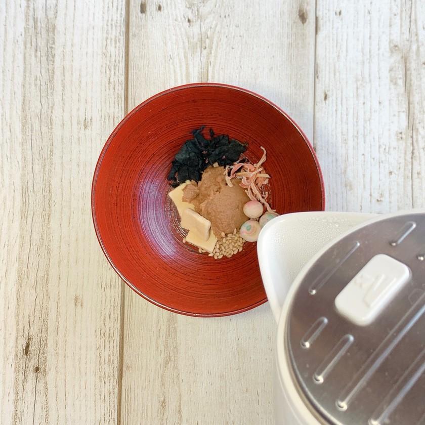 ポリクック『湯を注ぐだけ 乾物の味噌汁』