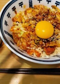 プルダック麺とガチソース