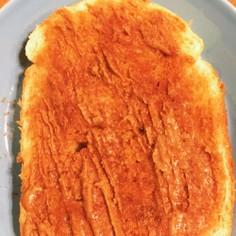 ロータス ビスケットスプレッドのトースト