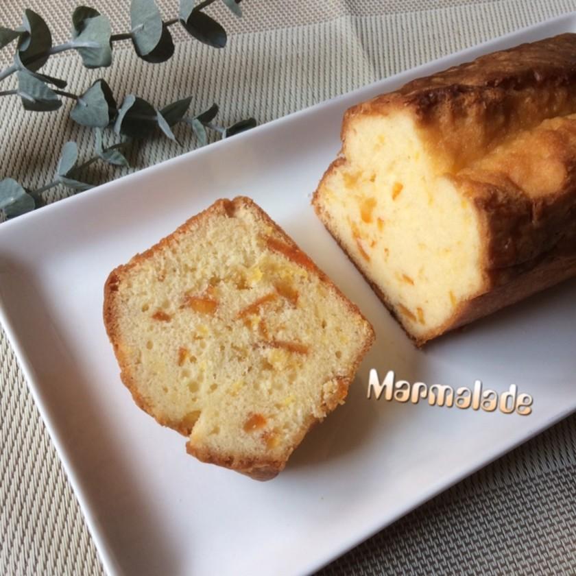 マーマレード☆パウンドケーキ