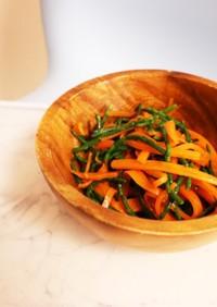 簡単!人参とシーアスパラガスの副菜