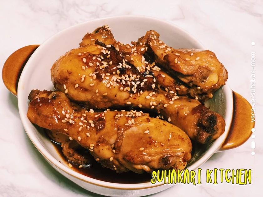 【甘辛煮】鳥の手羽元 ほろほろ煮