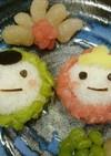 ひな祭り♥️ご飯デザート(雛豆)