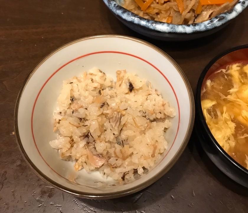 簡単サバ缶の炊き込みご飯