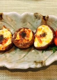 ☆しいたけのコーンマヨチーズ焼き
