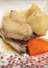 若鶏スペアリブのあっさり煮