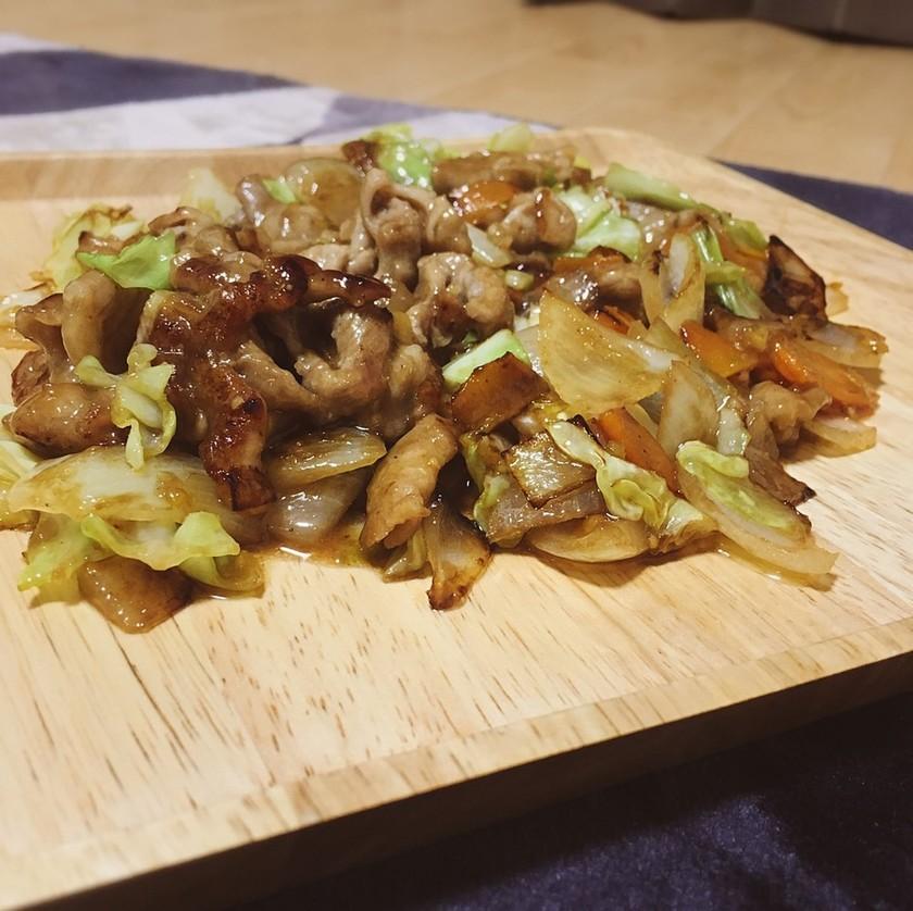 豆板醤・甜麺醤使いません!簡単回鍋肉♬
