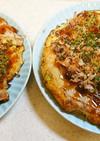 山芋焼き(キャベツもやし入り)