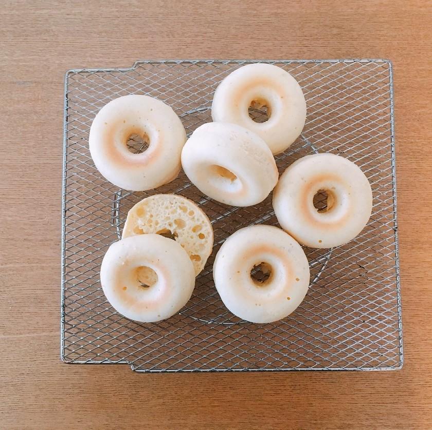 餅入り焼きドーナツ*ベーグル風