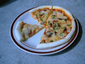 ただのピザ