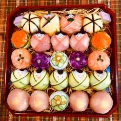 雛祭り 手毬寿司 おひなさま