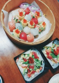 海鮮手まり寿司 ひな祭り お誕生日に