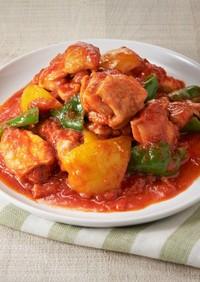 鶏肉のつゆうま™トマト煮