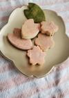 ひなまつり☆米粉三色クッキー
