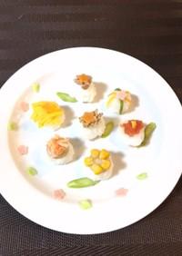離乳食の手毬寿司◎雛祭りに