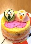 ちらし寿司ケーキ☆ひな祭り☆簡単