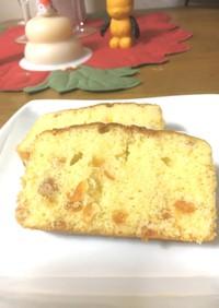 キンカンのオリーブパウンドケーキ