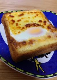 忙しい朝に!まよたまチーズトースト