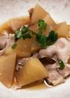 はかせ鍋で作る豚バラ大根の甘辛煮