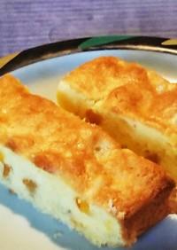 八朔のオレンジピールでオレンジケーキ