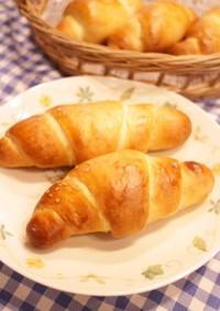 【冷蔵庫発酵】塩バターのロールパン