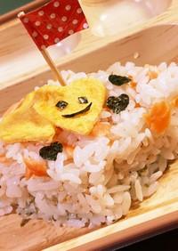 【離乳食中期〜】雛祭り菱餅風ごはん