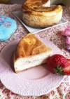 ホワイトデーに♡苺のベイクドチーズケーキ
