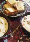 かぶと白菜のクリームシチュー