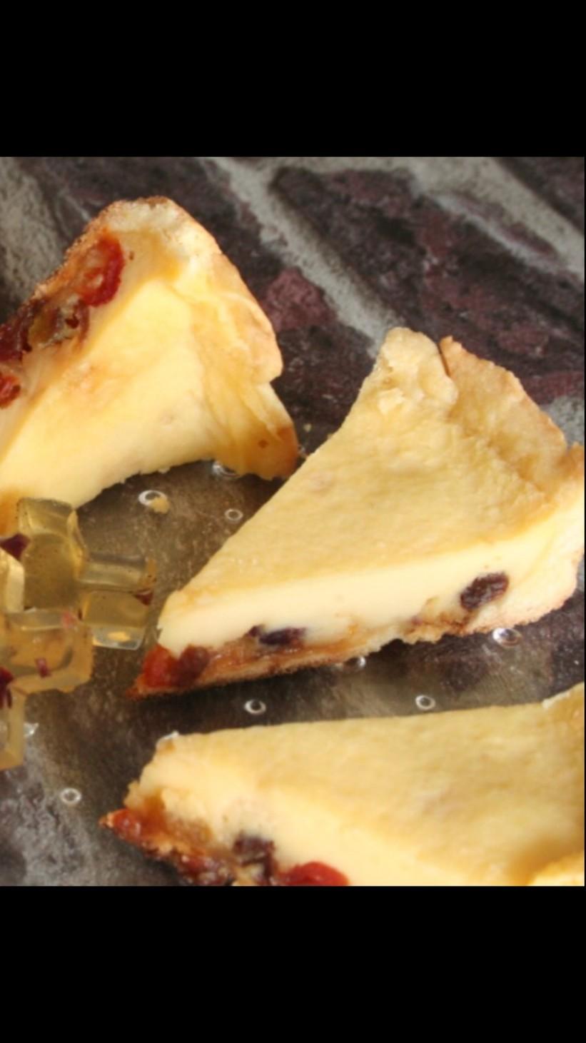 フライパンで美薬膳はちみつチーズケーキ