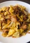 豚バラ肉とキャベツのオイスターソース炒め
