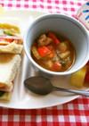 【子どもと作ろう】ハム野菜サンドプレート