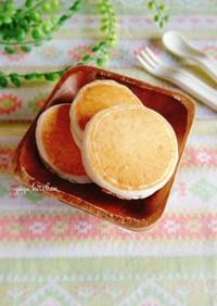 離乳食にも☆米粉の甘酒パンケーキ。