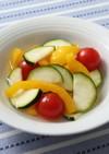 夏野菜のフレッシュピクルス
