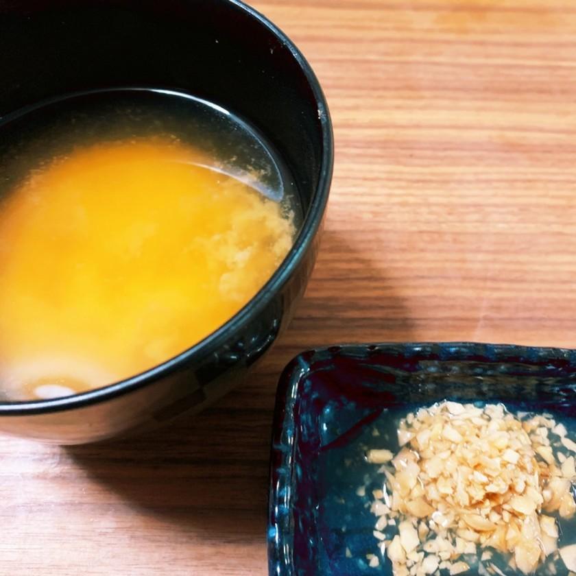 腸活温活 身体ぽかぽか 寝る前の酢味噌汁