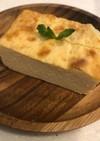 絹豆腐と大豆粉でチーズケーキ