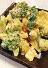 ブロッコリーとアボカドと半熟卵のサラダ