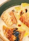 【節約】サバ缶と白菜のクリームスープ