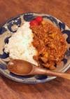 えのき茸とひき肉のトマトドライカレー