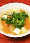 保育園給食★菜の花スープ