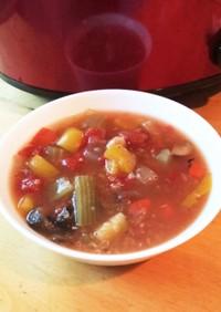 【免疫力強化!】キヌア入りトマトスープ
